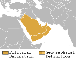 Arabian peninsula definition
