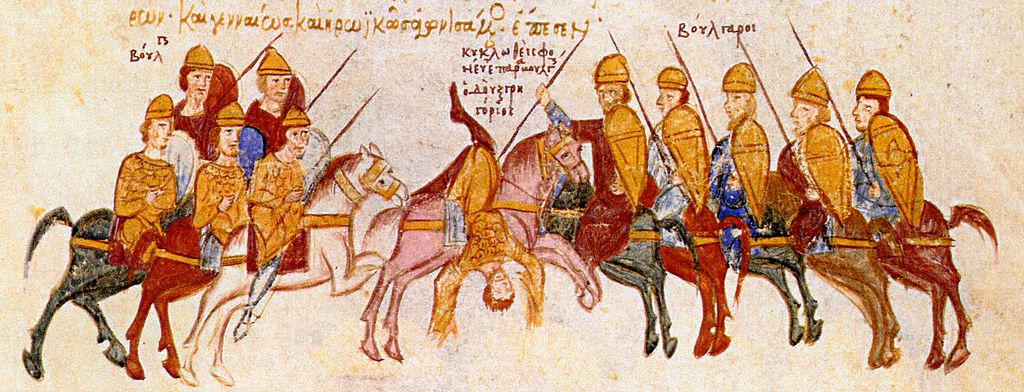 Ambush and death of Gregorios Taronites by the Bulgarians