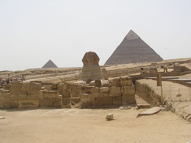 EgyptianPyramidsandSphinx2006