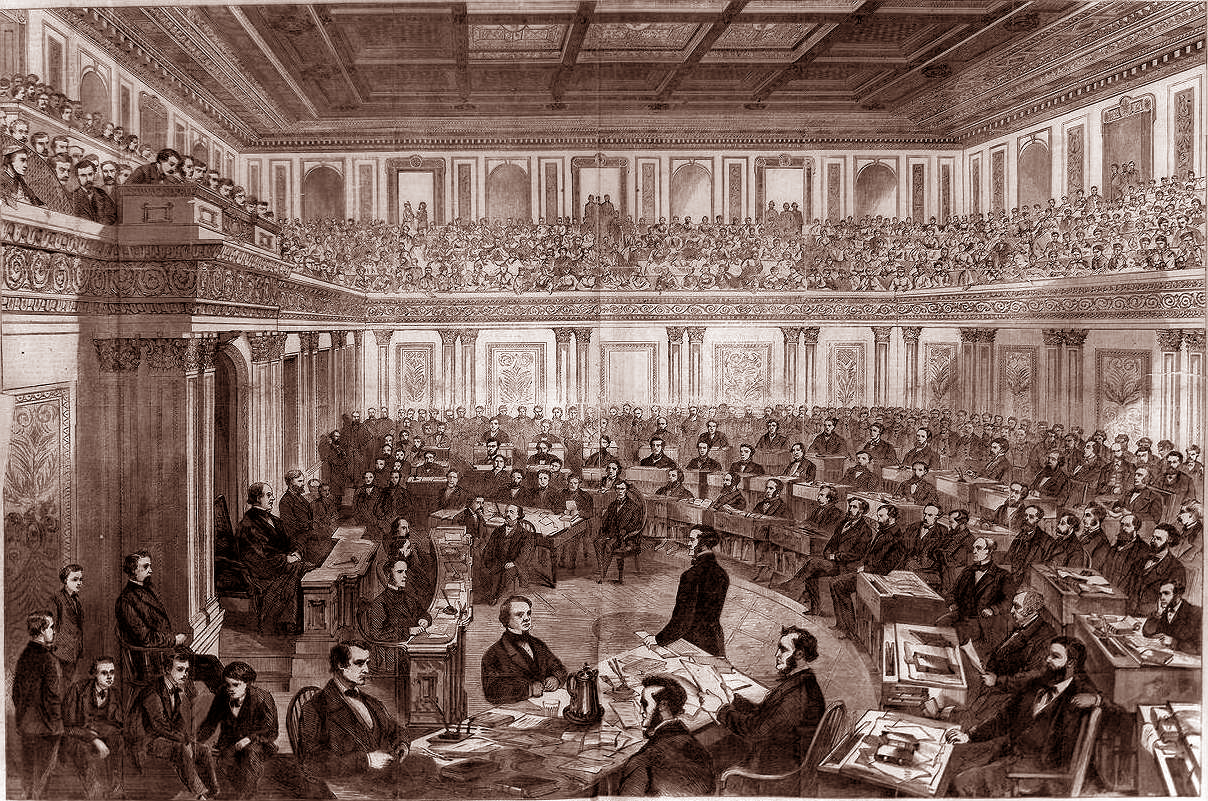Andrew Johnson impeachment trial