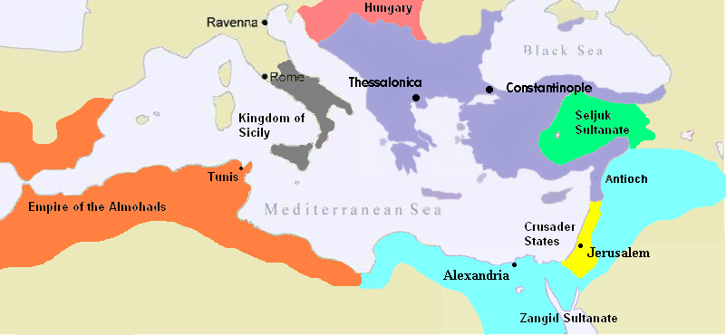The Byzantine Empire c.1180