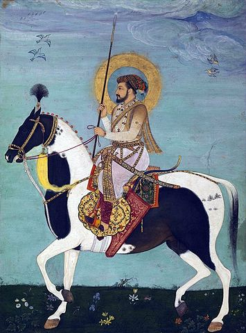 355px Shah Jahan Riding Stallion