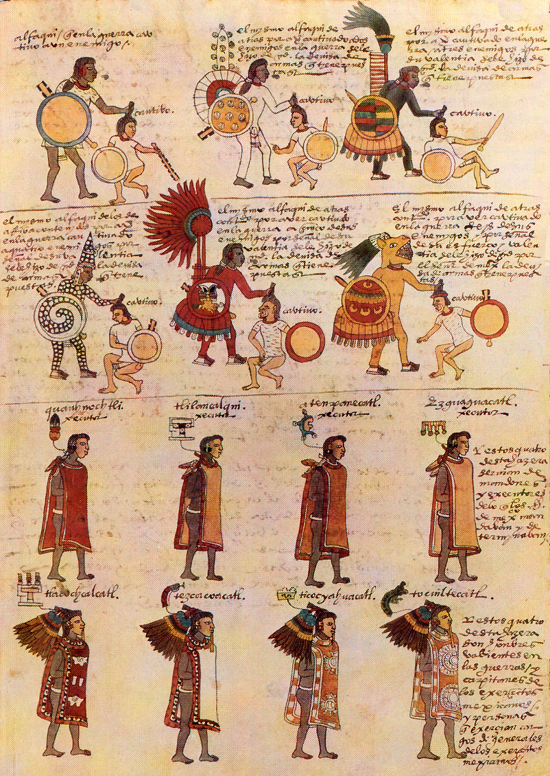 Codex Mendoza folio 65r