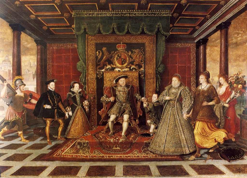 1024px Family of Henry VIII an Allegory of the Tudor Succession
