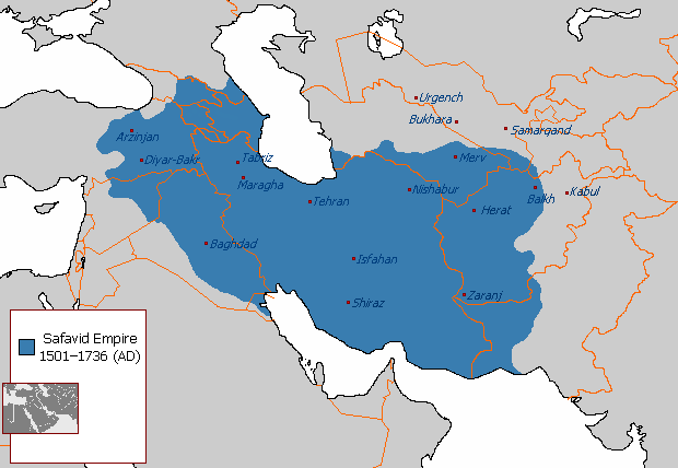 Safavid Empire 1501 1722 AD