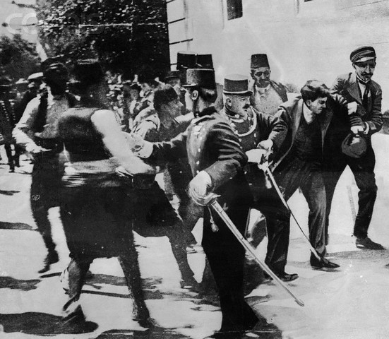 The Assassination of the Archduke Franz Ferdinand