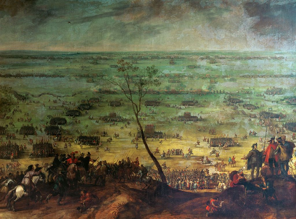 Peter Snayers The battle at Ltzen 1632