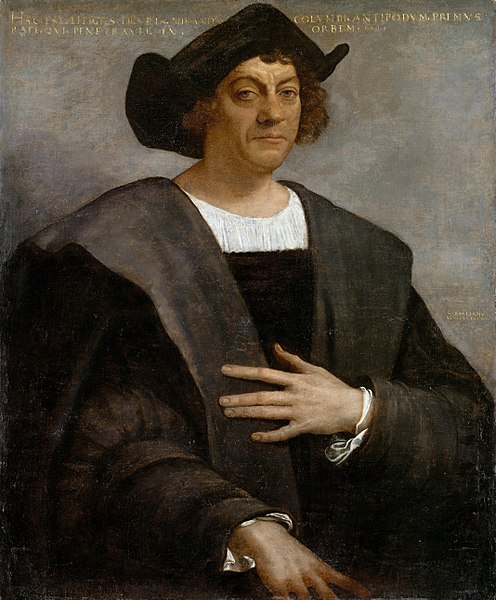 496px Portrait of a Man Said to be Christopher Columbus