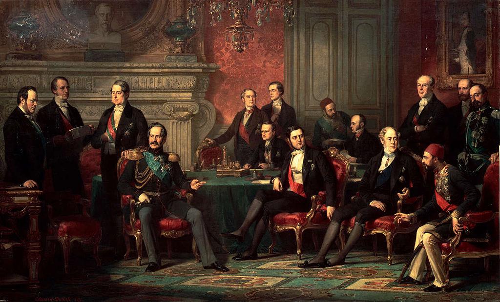 Парижки мирен договор, 1856 г.