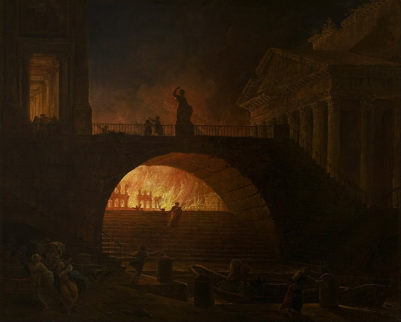 1275px Hubert Robert The Fire of Rome Google Art Project