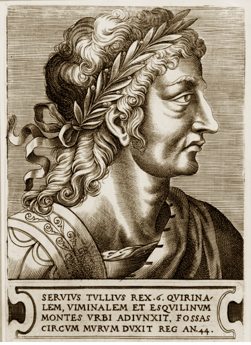 Servius Tullius by Frans Huys