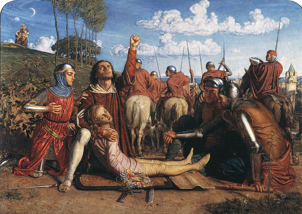 1024px William Holman Hunt Rienzi vowing to obtain justice